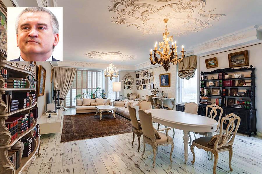Элитная недвижимость Аксенова (главы Крыма) в Москве