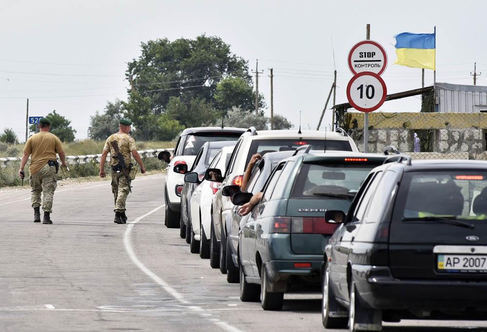 Поток украинских туристов в Крым вырос вдвое